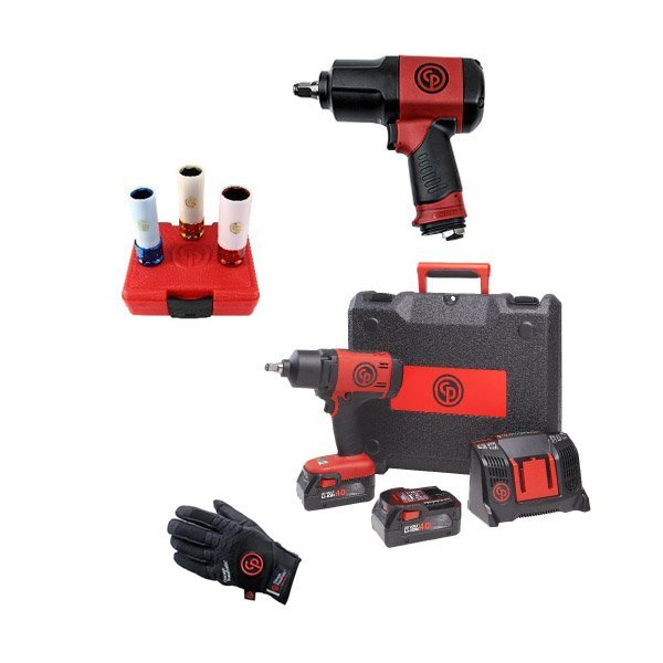 Chicago Pneumatic Набор аккумуляторного инструмента CP cordless PROMO pack 1