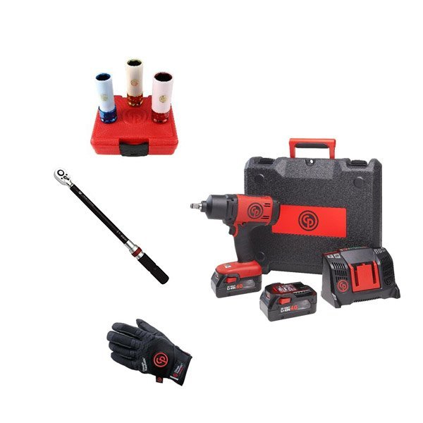 Chicago Pneumatic Набор аккумуляторного инструмента CP cordless PROMO pack 3
