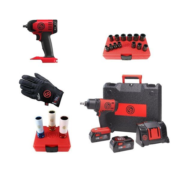 Chicago Pneumatic Набор аккумуляторного инструмента CP cordless PROMO pack 5