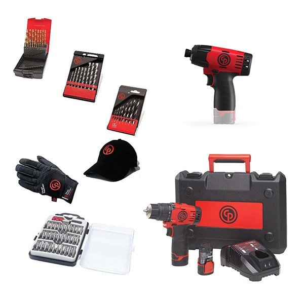 Chicago Pneumatic Набор аккумуляторного инструмента CP cordless PROMO pack 6
