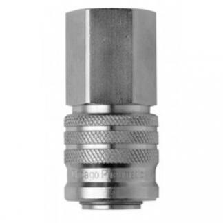 Chicago Pneumatic Штуцер: Муфта QF-F076E 14 (мама накруч.) 6158110750