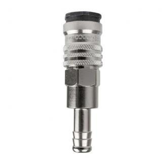 Chicago Pneumatic Штуцер: Муфта QF-H076E 10MM (мама под шланг 10мм) 6158110800